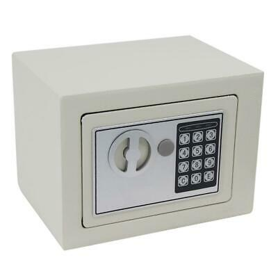 Iron Handgun Safe Box 9 Digital Security Electronic Lock Gun Jewelry Vault