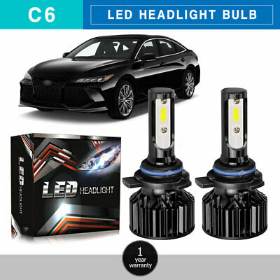 9012 HIR2 LED Headlight Bulb 40W 3200LM Kit High Low Beam Upgrade 6000K