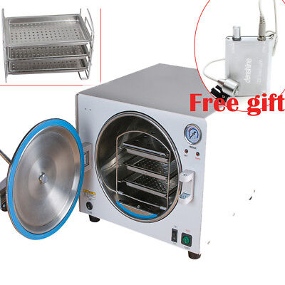 18l 900w Dental Lab Autoclave Sterilizer Medical Steam Sterilizition Clean Fda