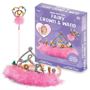 Make your own fairy crown and wand kit age 5 bracelet for Wand making kit