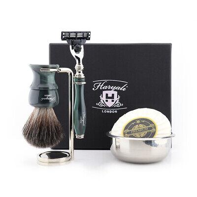 Mafia Beards Best Wet Shaving Kit Men Grooming Styling & Shaping Handmade (Best Beards Styles)