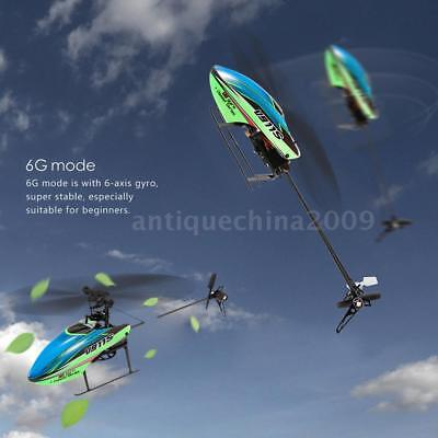 WLtoys V911S 4CH 6G Non-aileron RC Helicopter with Gyroscope for Training L7K4