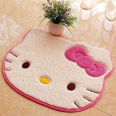 Hello Kitty Non-slip Cartoon Carpet Entrance Doormat Bathroom Kitchen Plush Rugs