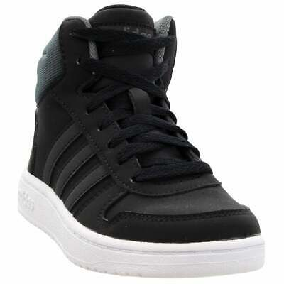 adidas Hoops Mid 2.0  Casual Basketball  Shoes Black Boys - Size 2.5 M