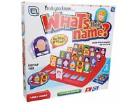 Large Range of Brand New Childrens Kids Toys What's Their Name Board Game