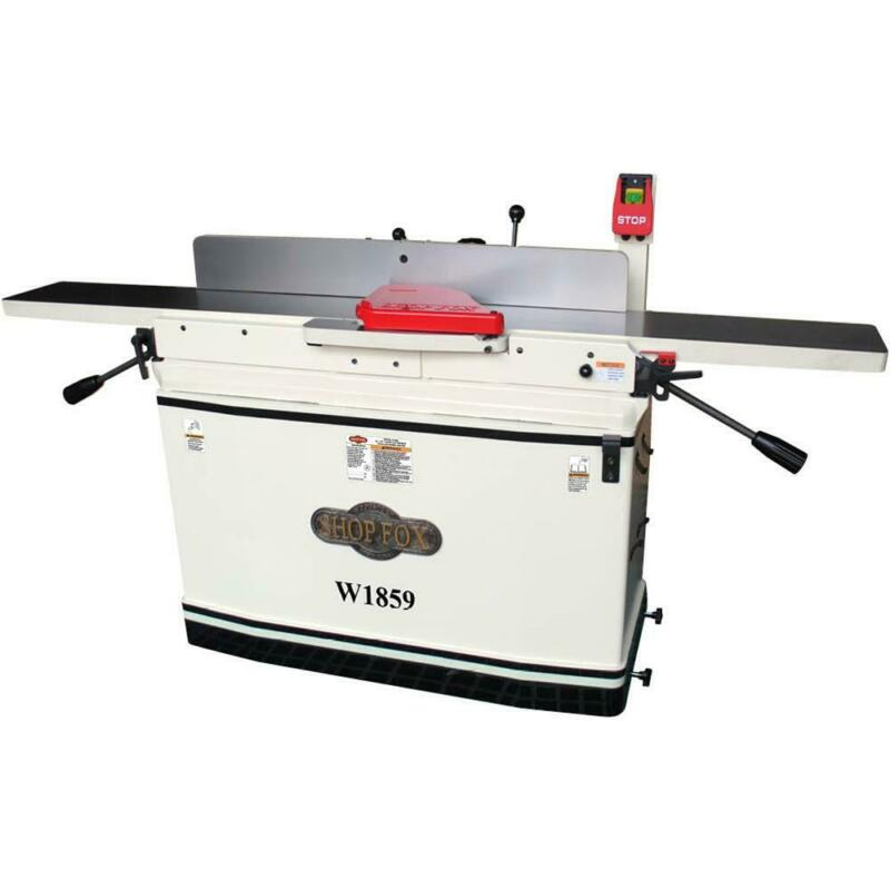 Shop Fox W1859 8-inch X 76-inch Parallelogram Jointer with Mobile Base