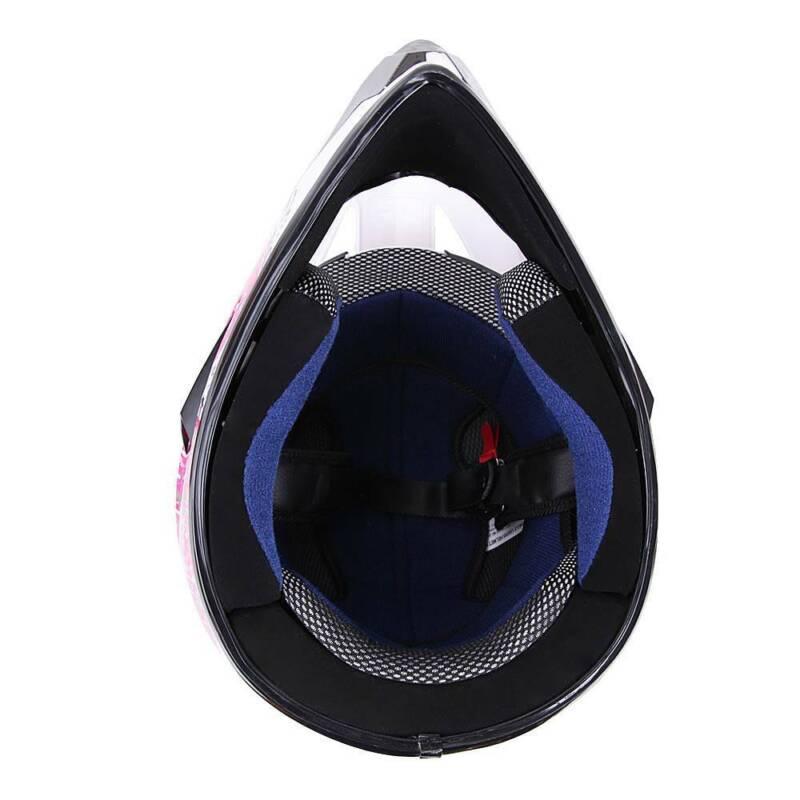 DOT Youth Kids Helmet Dirt Bike ATV Motocross Motorcycle Full Face Goggle Gloves