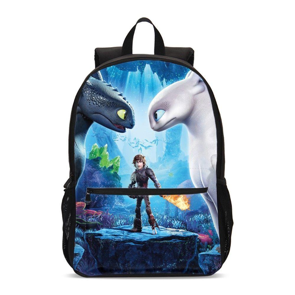 How to Train Your Dragon Big Backpack Cooler Lunch Bag Pen Case Shoulder Bag Lot