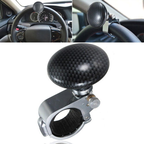Automobiles & Motorcycles Controllers Special Section Black Heavy Duty Suicide Knob Auto Car Steering Wheel Spinner Handle Knob Fixing Prices According To Quality Of Products
