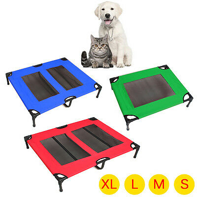 Extra Heavy Duty Pet Dog Trampoline Hammock Bed Sturdy Frame Bed Cat Puppy Cover