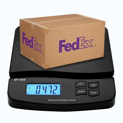 Black Digital Shipping Scale 66lbx0.1 Oz Postal Weight Scale Mail Postage Scale