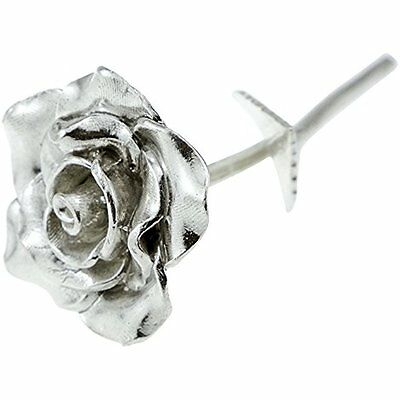 Tin Anniversary 10 Year Everlasting Rose   100  Pure Casted Great Idea By New