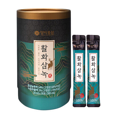 [Express] YANGJI Hwal Hwa Sam Nok / 10 ml x 30 Sticks