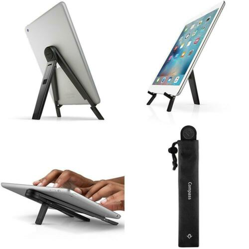 Black Mobile Display Stand with Typing Angle for iPad Pro//iPad Air//iPad Mini Twelve South Compass 2 for iPad