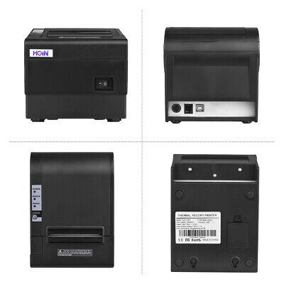 Auto Cutter Wireless POS Receipt Printer 250mm/S 80mm Thermal High-Speed N8Q4