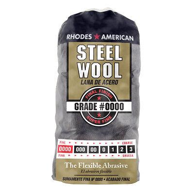 16 pack - HOMAX brand (1 Bag) (16 Pads)  #0000 (0000) SUPER FINE Steel Wool