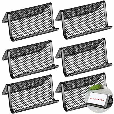 Sourceton Metal Mesh Business Card Holder Name Stand Office Display 50 Cards 6