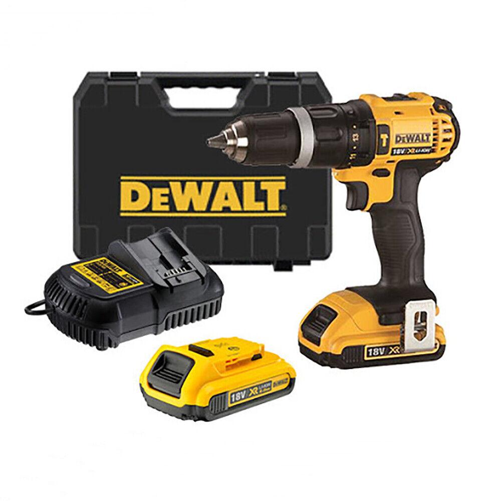 Dewalt DCD785D2 18V 2.0Ah Hammer Drill Driver