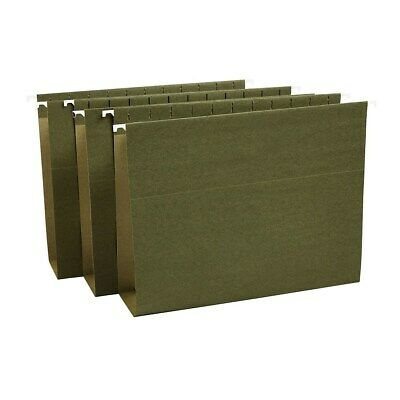 Staples Hanging File Folders Bx Bottom 3 Expansion Letter Gn 25bx 418376
