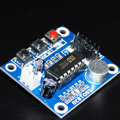 Recording Module Isd1820 For Arduino Voice Board Panel Playback Recorder Audio