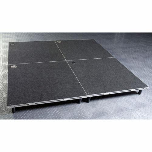 """INTELLISTAGE ISDRUM6X6 36 SQ FT 6"""" High Drum Set Riser Platform Portable Stage"""