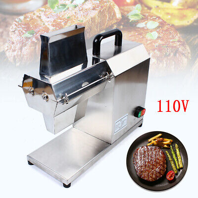 Commercial Electric Meat Tenderizer Steak Machine Stainless 750w Countertop 110v
