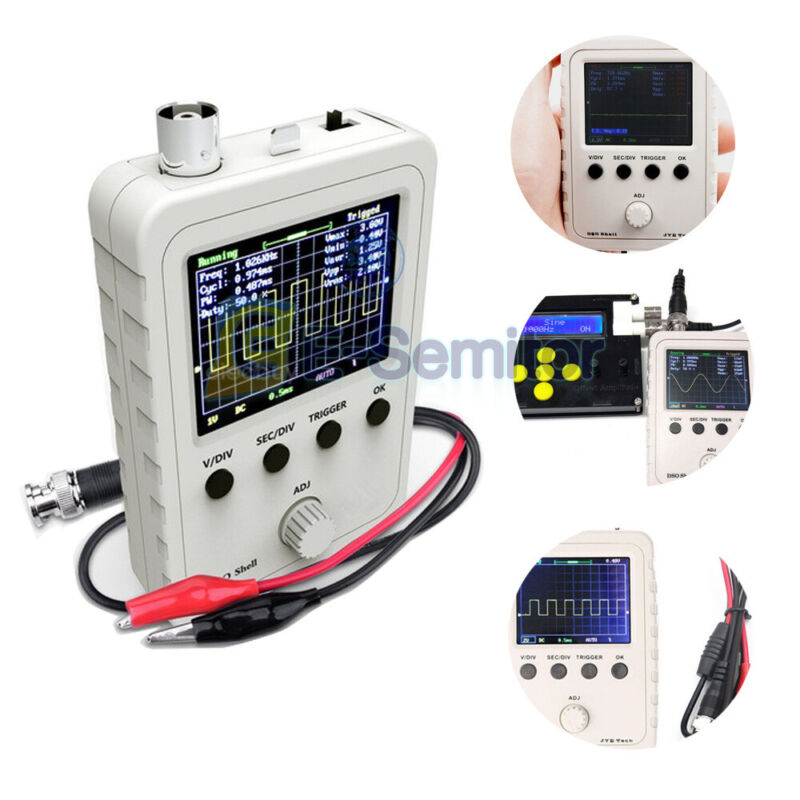 Assembled Digital DSO150 15001K Oscilloscope Kit For Electronic Training Teach