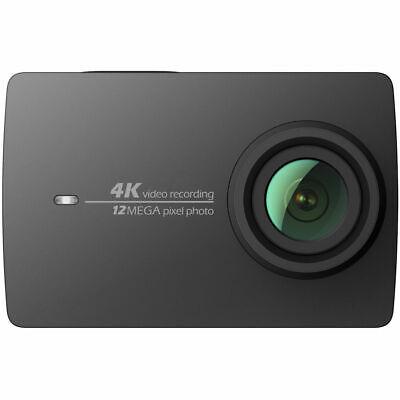 YI 4K Action Camera schwarz 4K/30fps 12MP Touchscreen,  WiFi, App-Steuerung