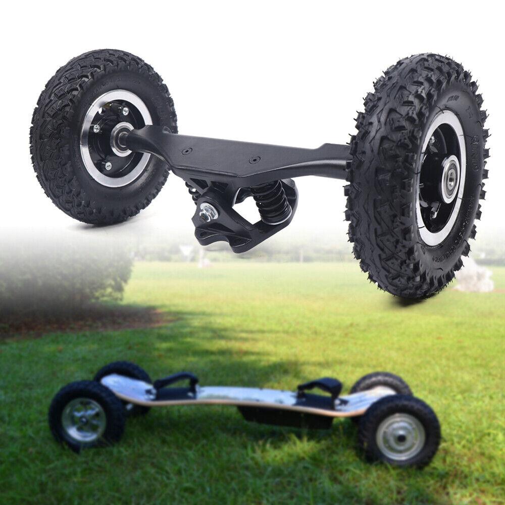 """Offroad Elektro 8"""" LKW Räder Combo Skateboard Truck Mountain Longboard Räder"""