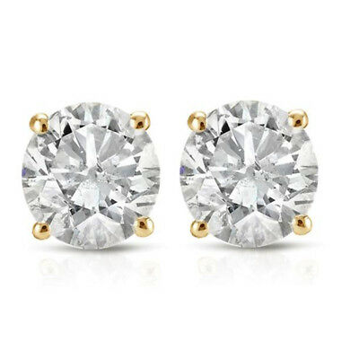 1/3ct Diamond Studs 14K Yellow Gold