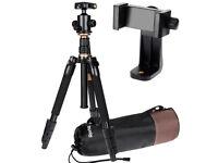 Photography Tripod with 360° Panorama Ball Head ,1 Carry Bag,and 1 360° Panorama Ball Bag