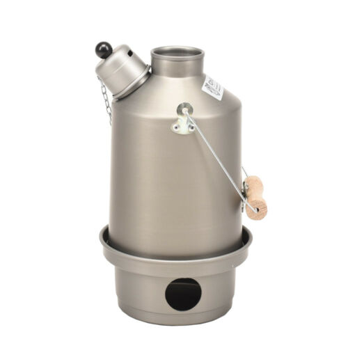 Ghillie Kettle Explorer 1.0 Litre Camp Kettle - Hard Anodised - Made in the UK