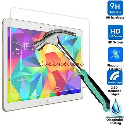Premium Tempered Glass Screen Protector Film For Samsung Galaxy Tab S 10.5 T800