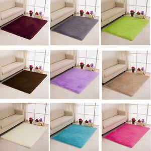 Sala da pranzo bagno camera da letto tinta unita peloso for Tappeti camera da letto ebay