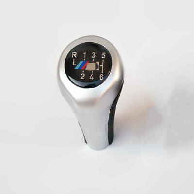 Best Silver 6 speed Gear Shift Knob For BMW E53 E60/61 E63 E81/82/84 (Best 6 Speed Shift Knob)