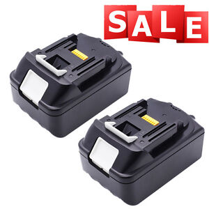 2pack replace makita 18v 4 0ah li ion lxt battery bl1840. Black Bedroom Furniture Sets. Home Design Ideas