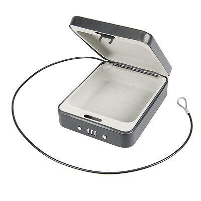 Stahlkassette  - Safe mit Zahlenschloss ist leicht und mühelos transportierbar (Safe Mit Zahlenschloss)