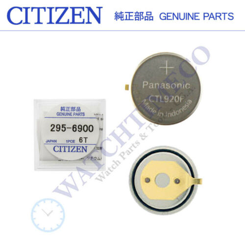 Citizen Eco-Drive 295-69 295-6900 CTL920F Rechargeable Battery Capacitor Sealed