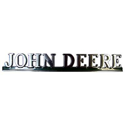 One New Front Name Plate Grille Emblem Fits John Deere 40 50 60 70 80