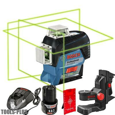 Bosch Gll3-330cg 360 Connected Three-plane Leveling Alignment-line Laser New