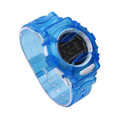 Boys Girls Children KIDS Students Waterproof Digital Watch Wrist Sport Watches
