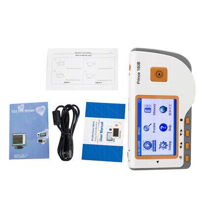 Portable Easy Use Ecg Ekg Handheld Heart Monitor Sensor Usb Prince 180b Dc 5.0v