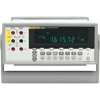 Fluke 8808a 5.5 Digital Bench Multimeter. Measures Volts Ohms And Amps.