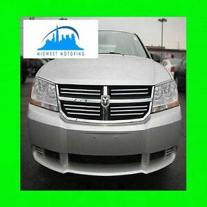 2008-2013 DODGE AVENGER CHROME TRIM FOR GRILL GRILLE W/5YR WARRANTY
