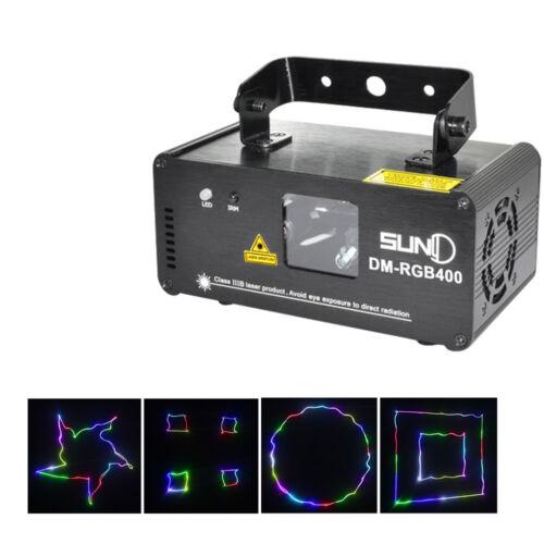 SUNY DMX RGB Laser Scan Beam Christmast Par Light Party Stag