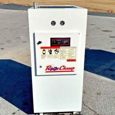 Used 7.5 Hp Champion  Rotary Compressor Enclosed