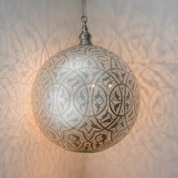 Fonkelnieuw ≥ ZENZA Filigrain Bol Hanglamp XXXL - Lampen | Hanglampen FX-47