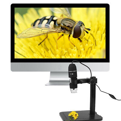 Usb 2.0 Digital Microscope 1000x 8led Electronic Endoscope Magnifier Zoom Camera