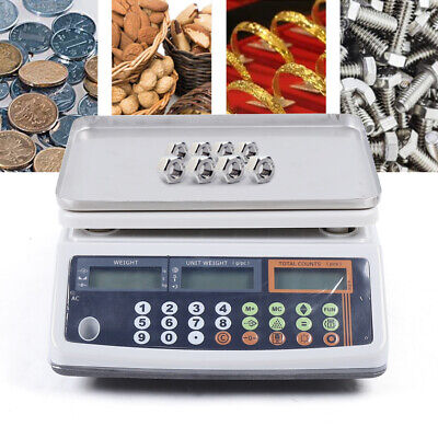 Precision Digital Tabletop Weighing And Counting Scale 30kg Weighing Balance Us