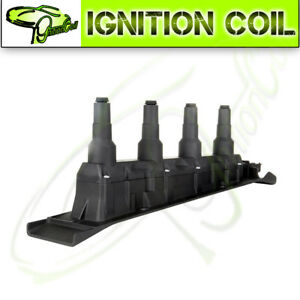 Direct New Ignition Coil Cassette Pack Black for Saab 9-3 9-5 Turbo 4 Cyl UF577